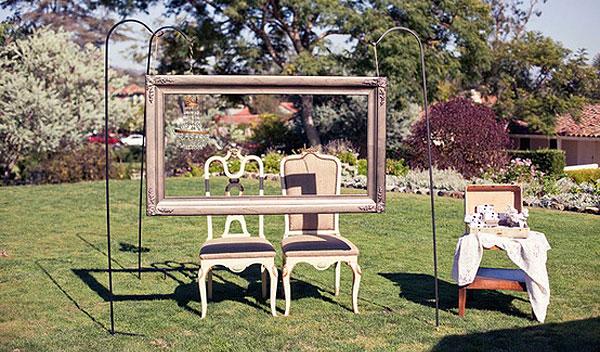 Fotocall, marcos para bodas