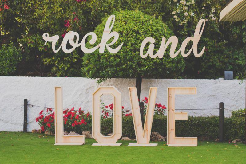 Letras para bodas combinadas