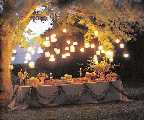 Botes de cristal con velas o luces led, luces para bodas diferentes
