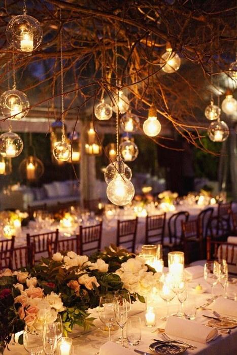 Luces para bodas, la importancia de la luz en tu boda
