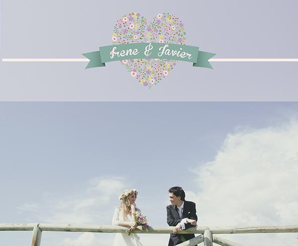 Una boda romántica con luz y color en Malaga