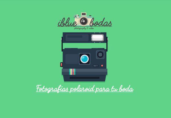 Usa fotos polaroid para bodas
