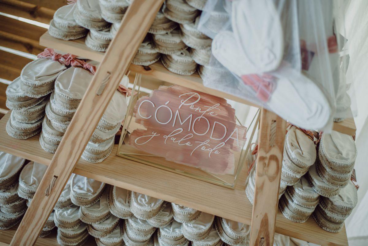 Rincon zapatillas bodas, espacios originales