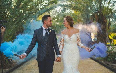 Jardines del Trapiche, un sitio ideal para bodas en Malaga