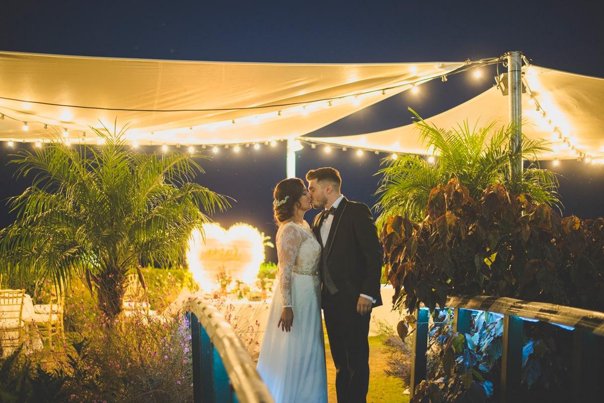 Iluminación de boda en Finca Villa Palama, Marbella
