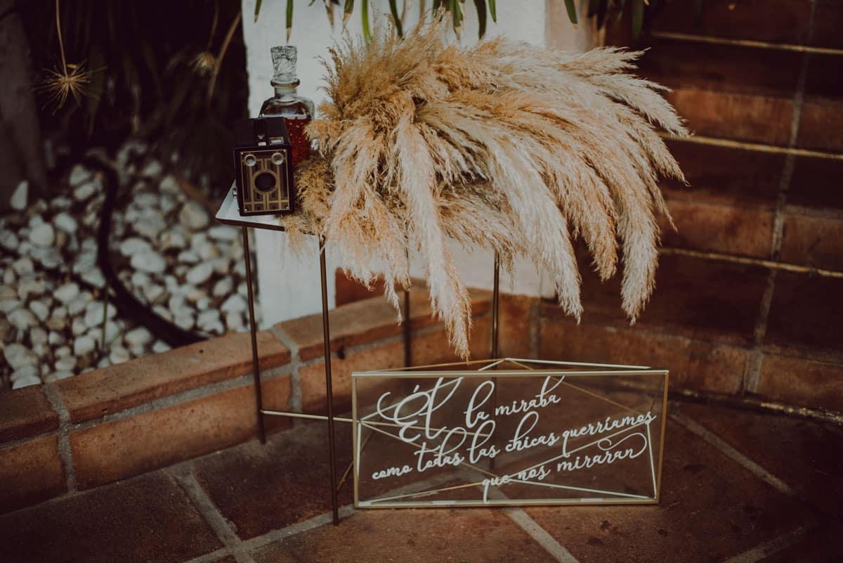 Photocall para bodas rustico, madera