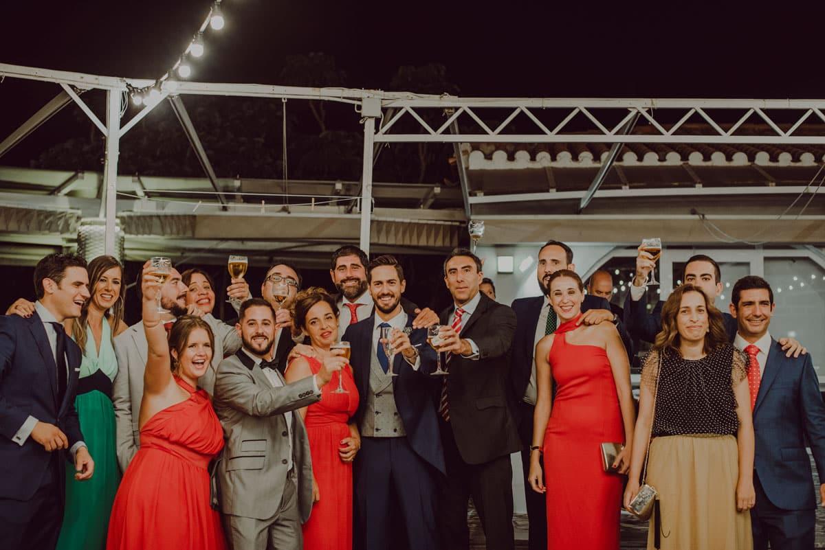 boda en puerto