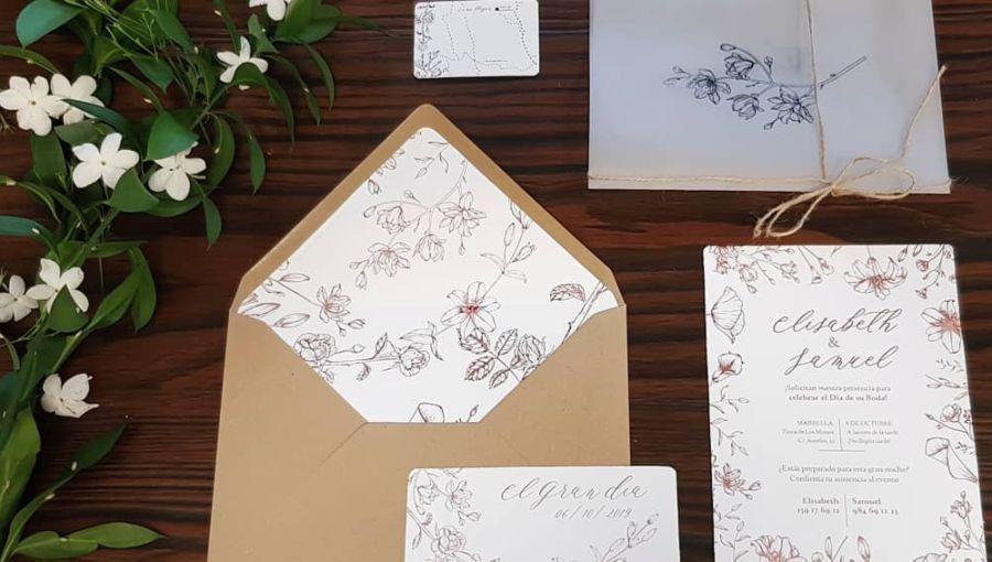 Invitaciones de boda en papel o clásicas