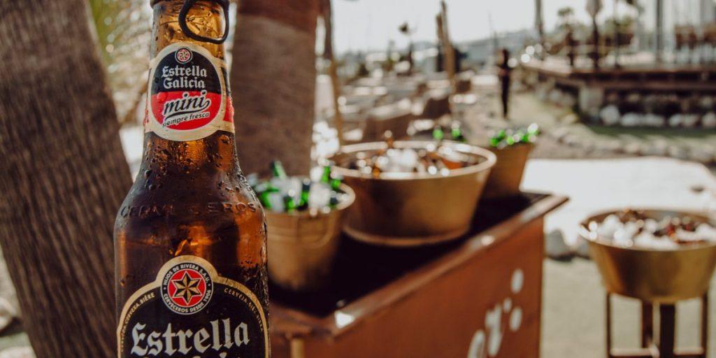 Barra cerveza bodas, i-blue bodas Málaga