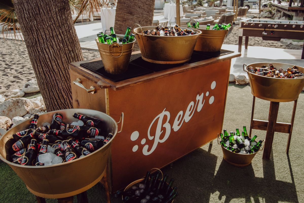 Barra de cerveza para bodas, Decoracion bodas Malaga
