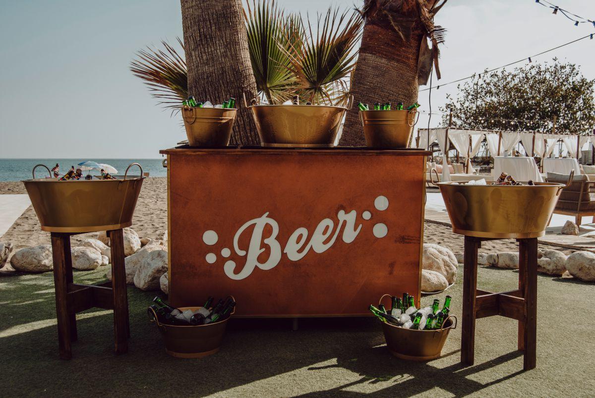 Barra cerveza bodas