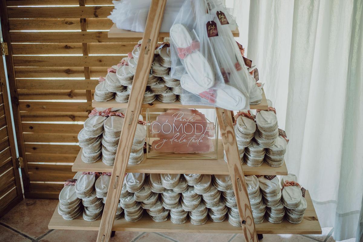 decoración alpargatas
