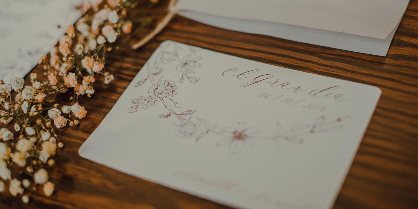 Papelería de boda Save The Date