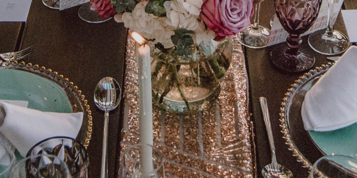 Caminos mesas bodas