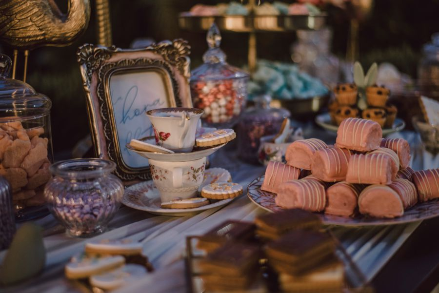 Candy bar, decoracion boda Disney