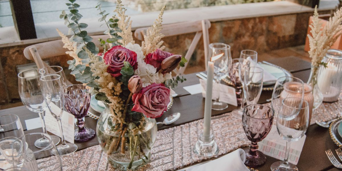 Decoracion floral mesas bodas