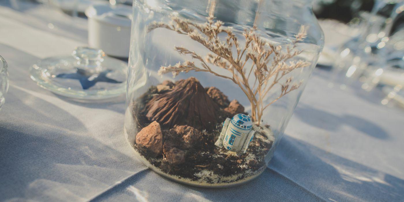 Decoracion mesas boda personalizada