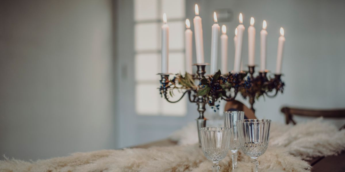 Velas mesas de bodas