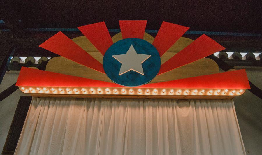 Boda Marvel, el Capitan America