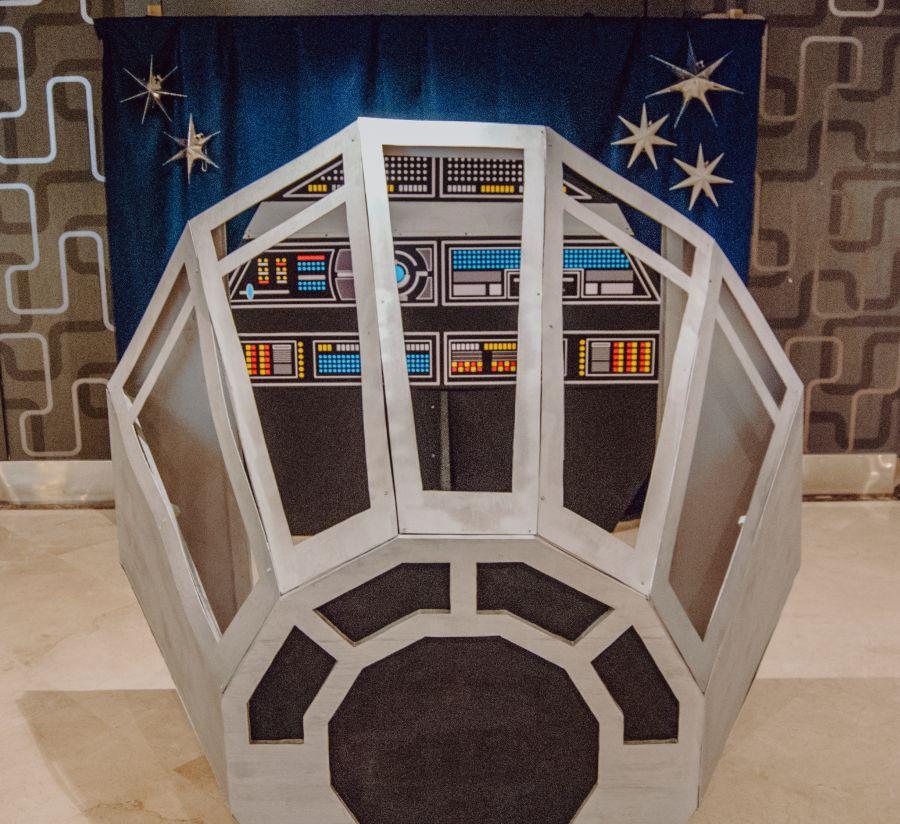 Halcon milenario, boda Star wars casino Torrequebrada