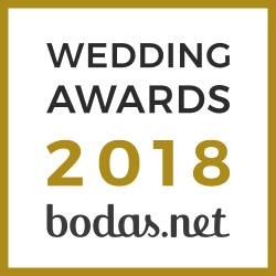 Premio bodas.net mejor fotografo 2018