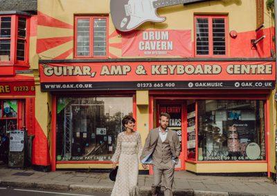 Reportaje de post-boda de Inglaterra en Brighton
