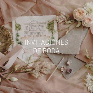 Tienda de invitaciones de boda exclusivas y personalizadas