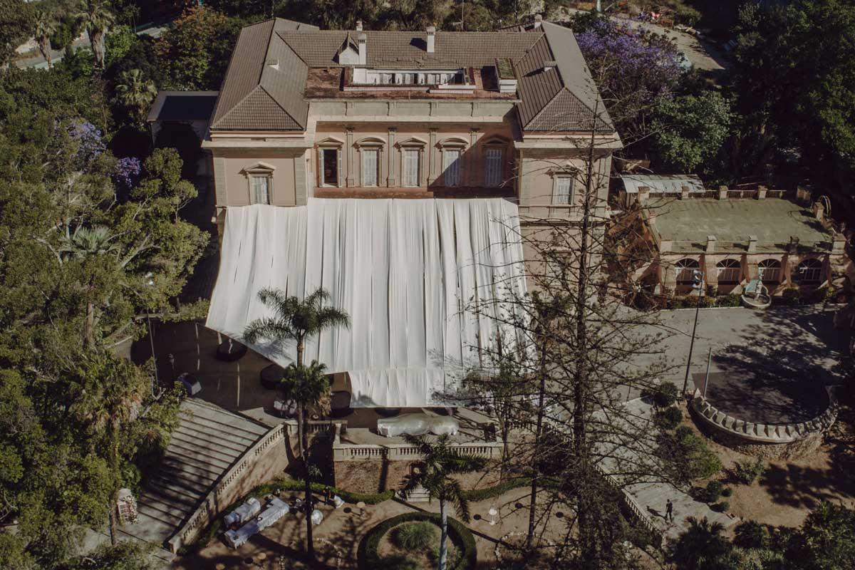 Decoracion Hacienda Nadales, una boda al estilo britanico