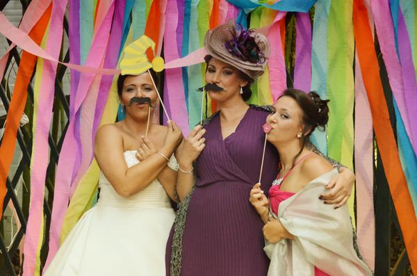 Disfruta en tu boda del Photo booth
