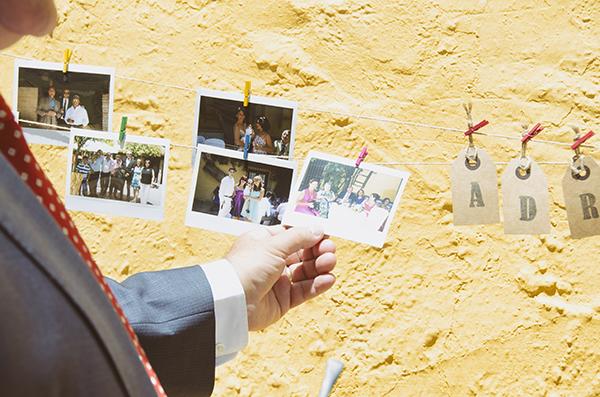Fotos en tu boda, fotos polaroid para tu boda, decoracion de boda