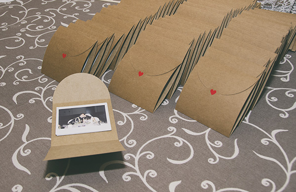 Regalos para invitados boda, fotos polaroid personalizadas