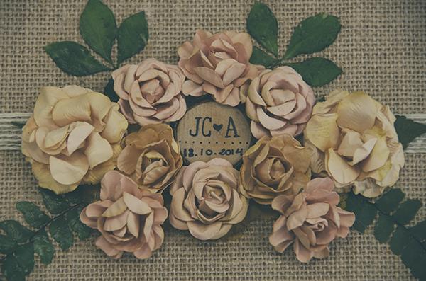 Album de boda, albumes de boda, original, vintage, retro, naturales, florales