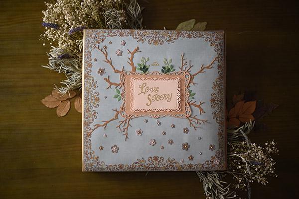 libro de firmas de cuento reportaje de boda Malaga original