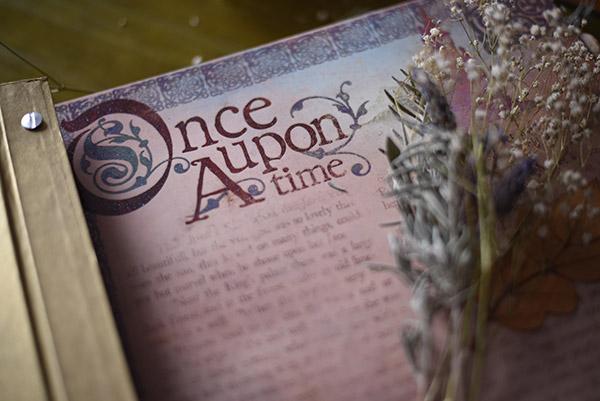 libro de firmas de cuento reportaje de boda de cuento