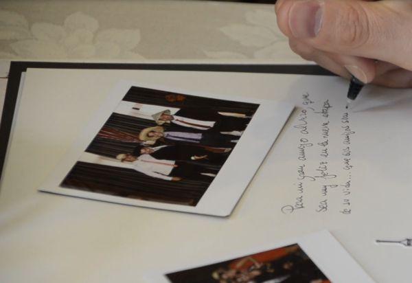 Consejos para bodas, fotografo para boda, fotos polaroid, libro de firmas para bodas
