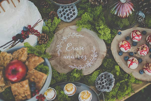 Inspiración boda de cuento, Blancanieves