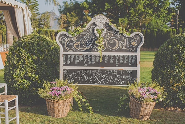 Finca Almodovar, decoracion boda, malaga