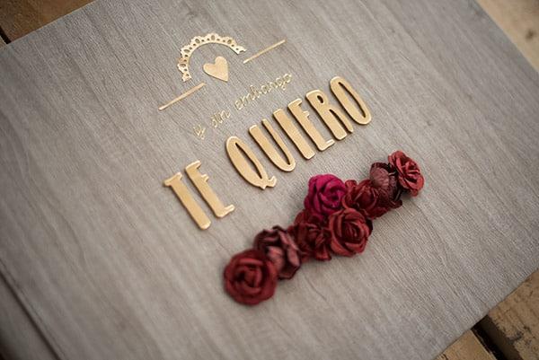 Albumes de fotos originales, decorados con rosas