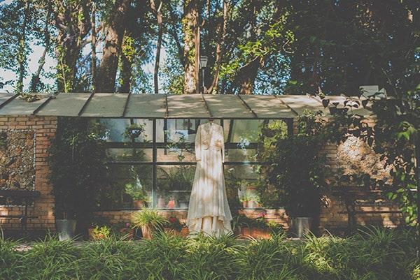 Boda vintage, espacio natural