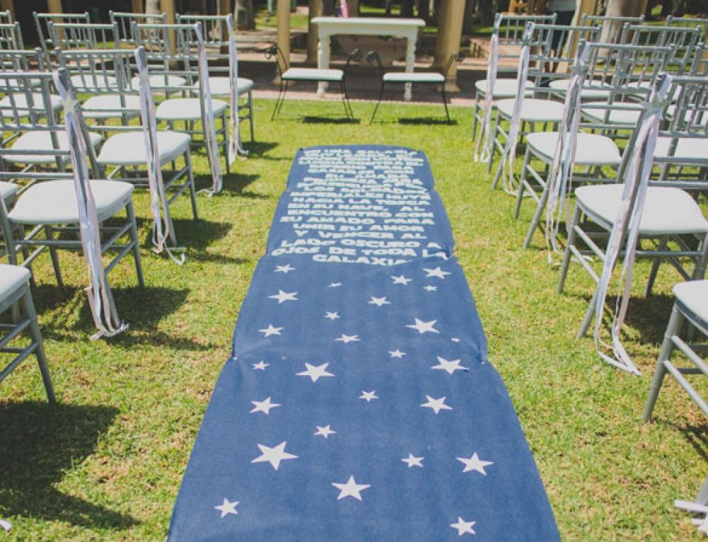 Decoracion para boda original: Star Wars