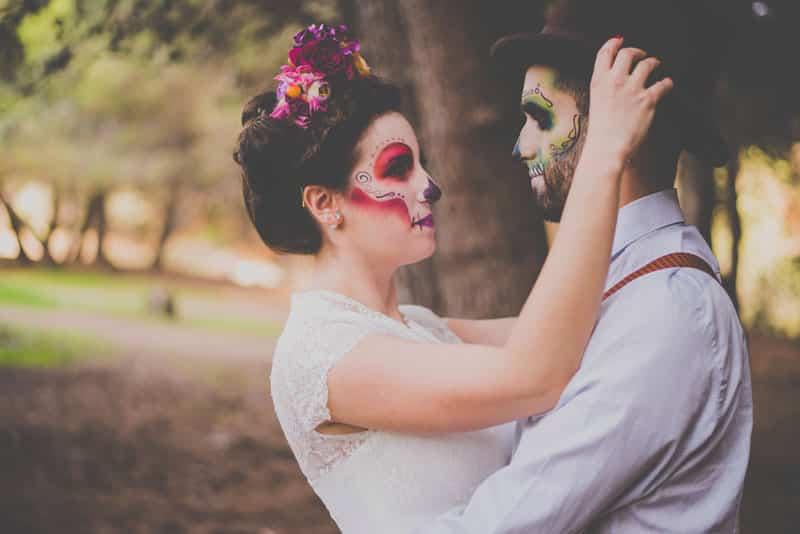bodas en otoño, fotos de otoño, catrina