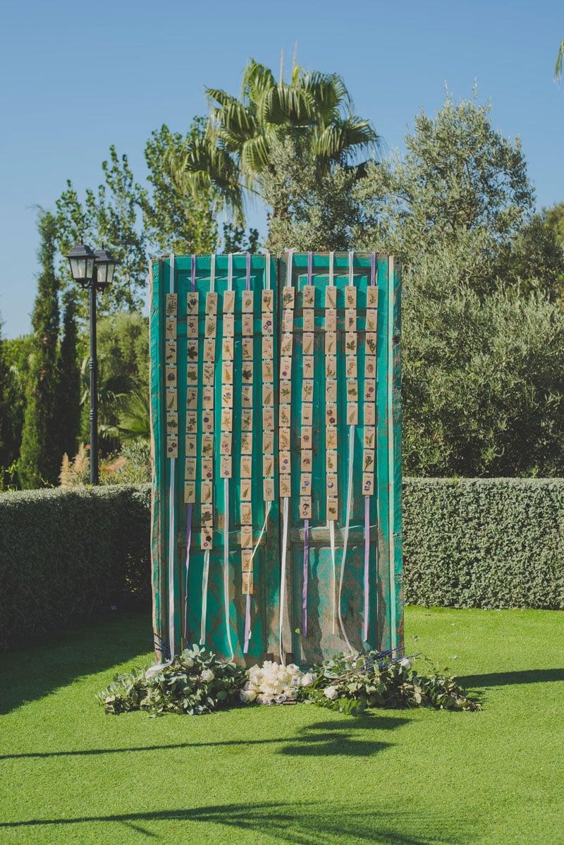 decoracion para boda, boda botanica