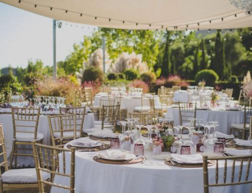 Decoracion para boda original: botanica