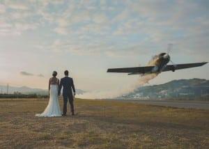 fotografo bodas, reportaje aviones