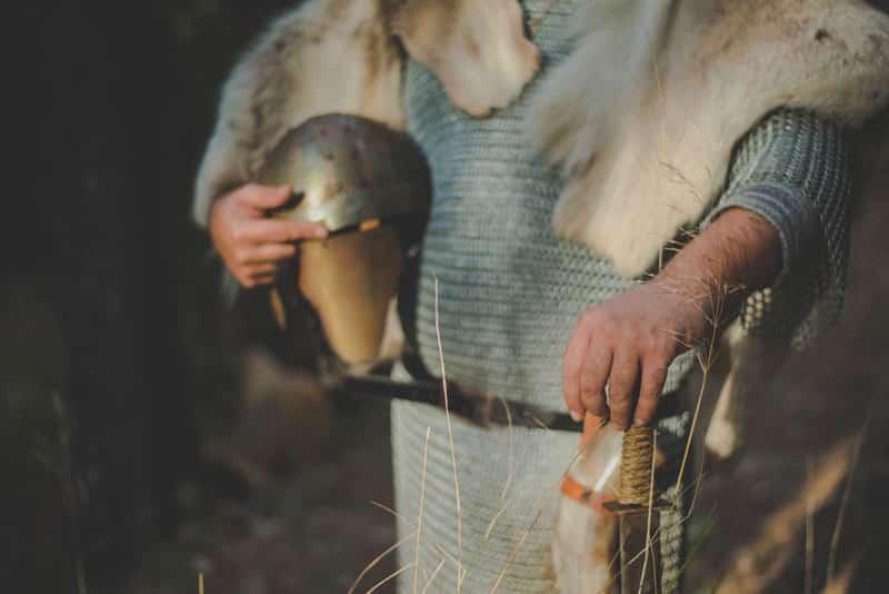 fotos de vikingos, boda vikinga, reportaje vikingo