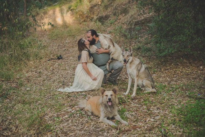 fotos de vikingos, boda vikinga, postboda vikingo