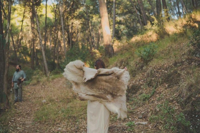 postboda malaga, reportaje vikingo, fotografo bodas