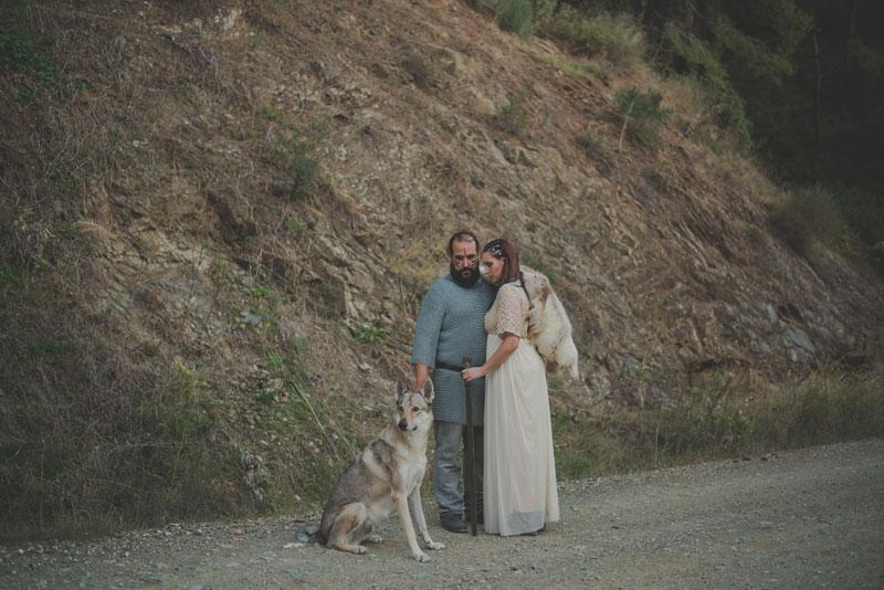 iblue bodas, reportaje vikingo, fotografo bodas
