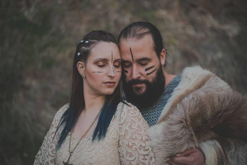 fotos de vikingos, boda vikinga, fotos vikingas
