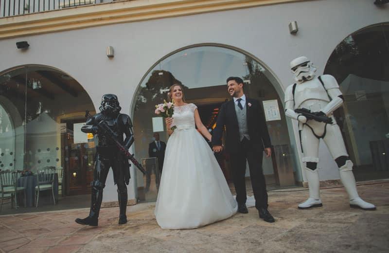 boda star wars, star wars malaga